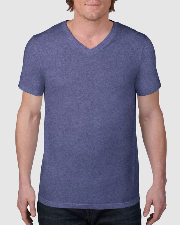 Anvil Fashion Basic V Neck T-Shirt