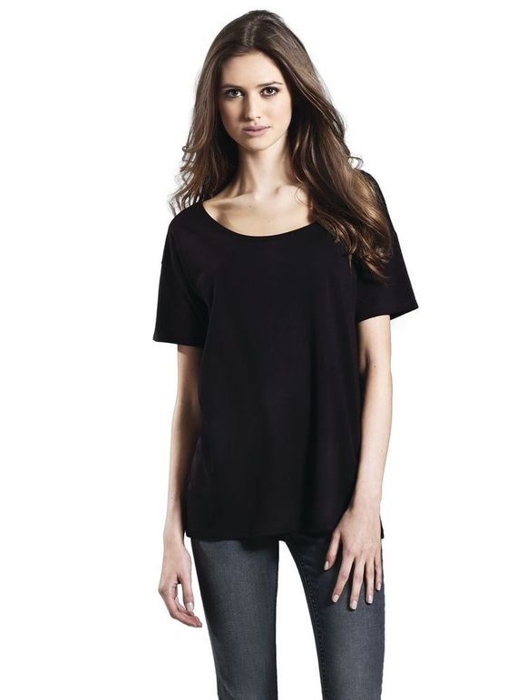 EP46 Women's Tencel Blend Oversized T-Shirt