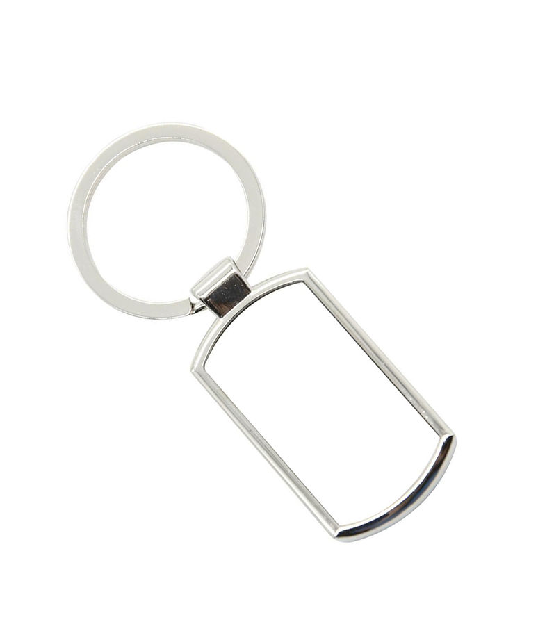 Oblong Keyring Web