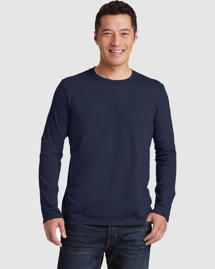 Gildan Long Sleeve Softstyle Front