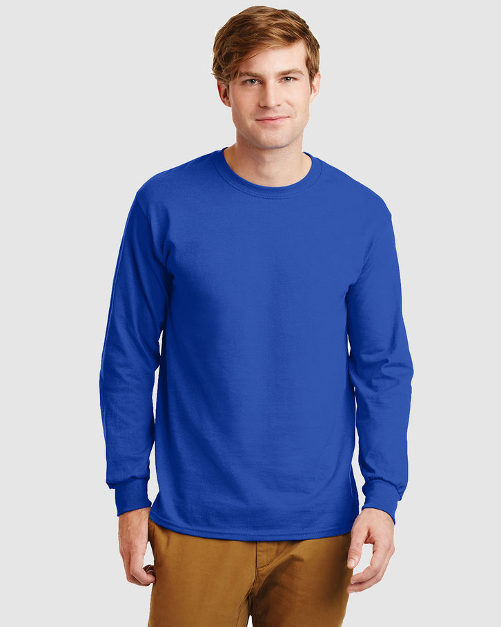 Ultra Cotton Long Sleeve Tshirt Front